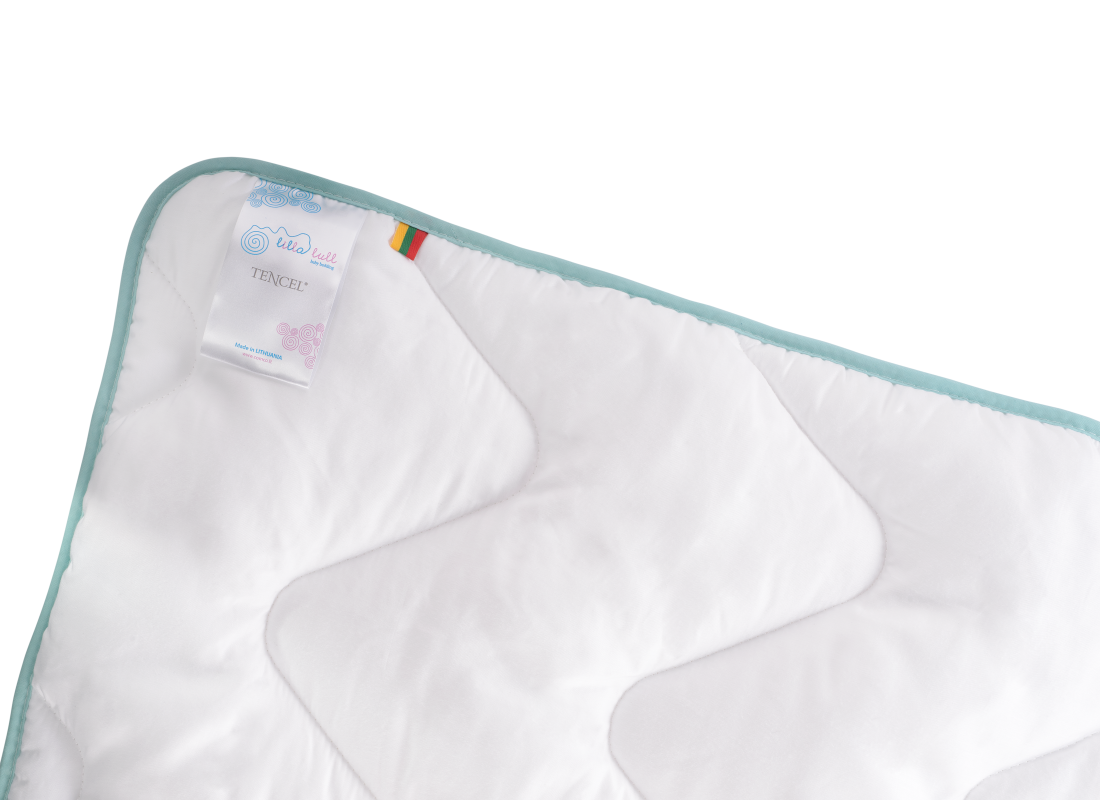 Lilla Lull Tencel Baby Blanket | comco.lt